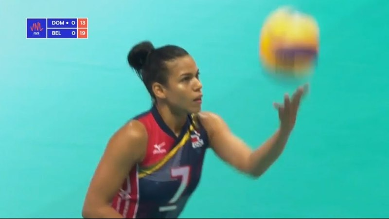 Dominican Republic v Belgium — Full Highlights | 2018 Volleyball Nations League Women's