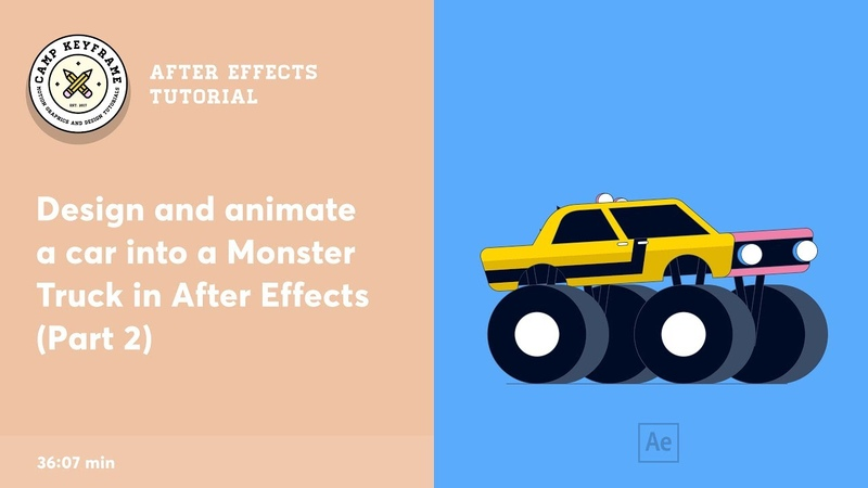 After Effects Tutorial - Turn a Car Into a Monster Truck! (part 2)