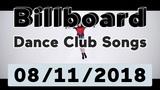 Billboard Top 50 Dance Club Songs (August 11, 2018)