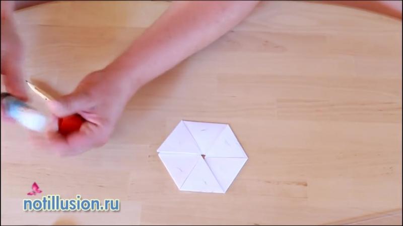 Как сделать флексагон Гексафлексагон своими руками