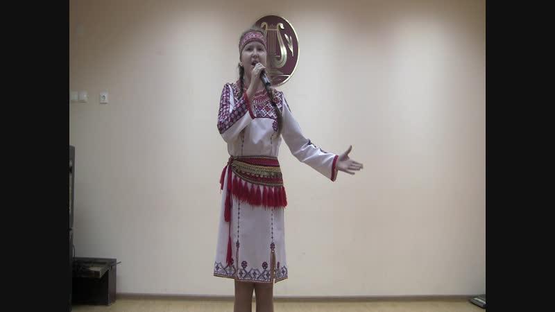 Кашина Анастасия - Кавто цёрат (мордовская народная песня)