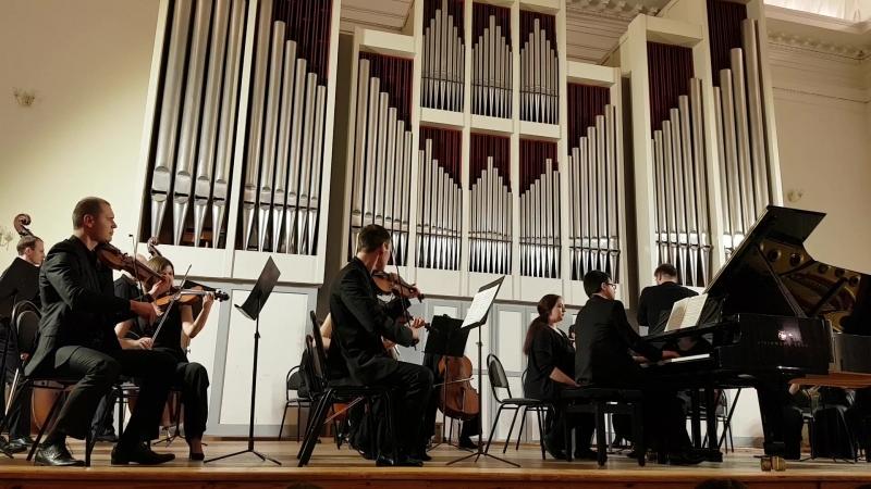 А. Шнитке Концерт для ф-но и струнного оркестра