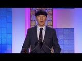 Benedicts speech at the South Bank Sky Arts Awards the stream froze for a moment, sorry