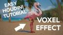Houdini Easy Voxel Effect Tutorial