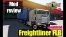 ETS2 1 31 MODS Freightliner FLB Обзор Модов Euro Truck Simulator 2