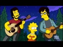 Artists Flight of the Conchords on the Simpsons