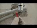 Покупка и установка водяного полотенцесушителя на металлопластиковые трубы watch v=qu40bTMWkYk
