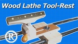 Real Lathe Pt. 4 Fully Adjustable Tool-rest
