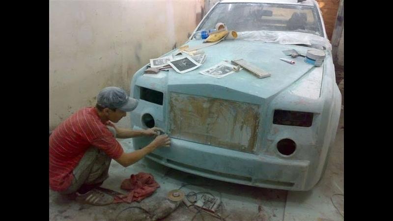 ВЕСЬ КАЗАХСТАН БЫЛ в ШОКЕ от ЭТОГО Мерседеса переделанного в Rolls Royce с бюджетом всего 200 000
