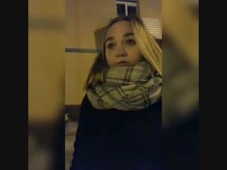 Девушка сожгла билеты на Универсиаду в знак протеста