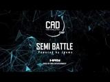 C.A.D. DANCE CAMP 2018 Semi Final Battle Sideshow vs Kaide HRNMovie Danceproject.info