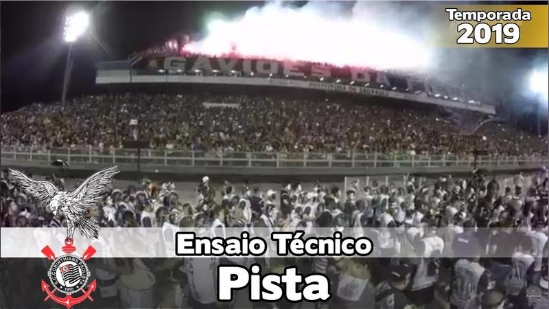 Gaviões da Fiel 2019 - Bateria no ensaio técnico (Pista) - Apoteose Visita SP