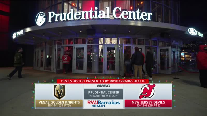 NHL 2018-2019 / RS / 14.12.2018 / Vegas Golden Knights - New Jersey Devils