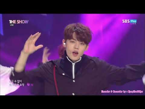 [UNB - 감각 (Feeling)] KPOP TV Show | SBS 더 쇼 (THE SHOW) E.144 180417 [60FPS]