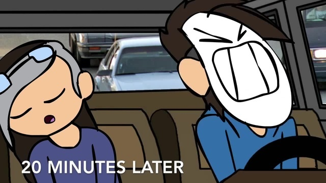 Late Night Crew Animated: Car Ride! (C7 Animatics)