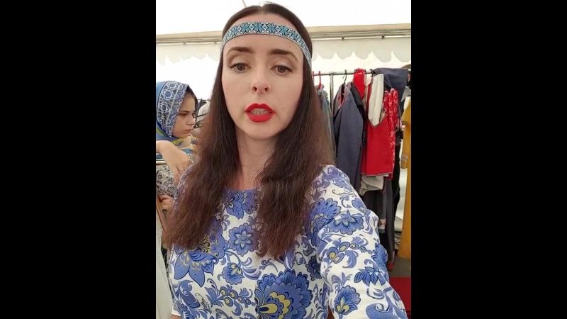Фестиваль славянской культуры и моды Русское поле