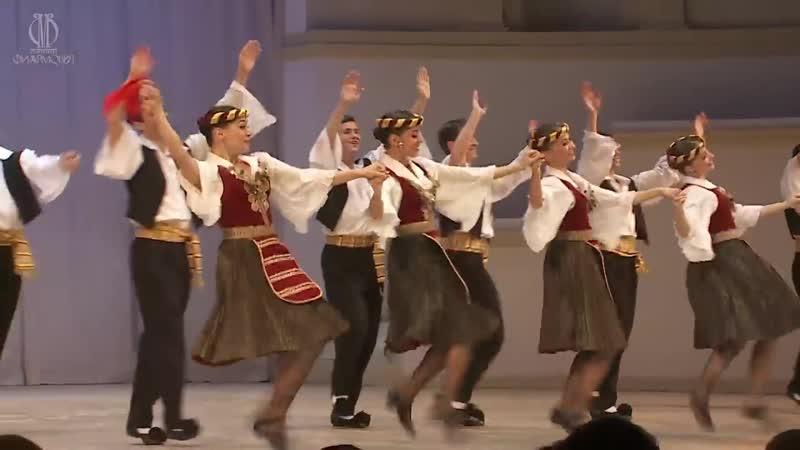 ГААНТ им. Игоря Моисеева, Stavros Grekis His Original Bouzouki Orchestra - To palikari echi kaimo