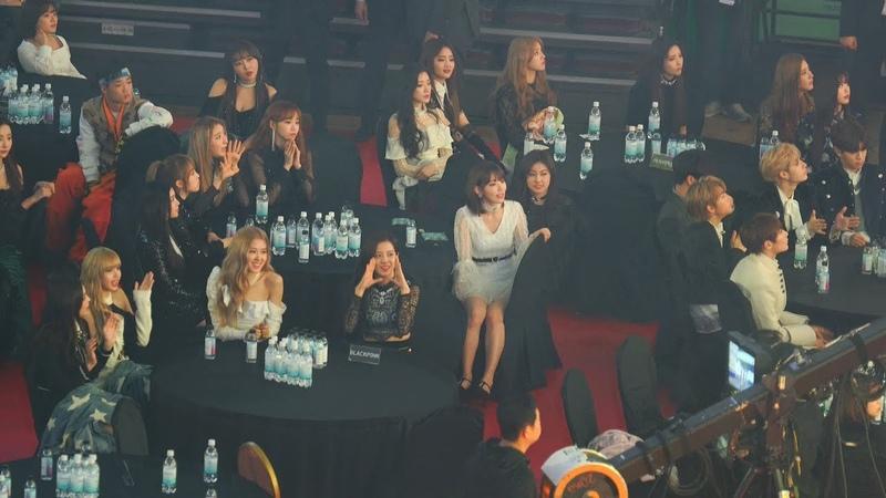 [레드벨벳(Red Velvet) 봐서 행복한 사쿠라] 블랙핑크(BLACKPINK),아이즈원(IZONE),여자아이들 Reaction@190123