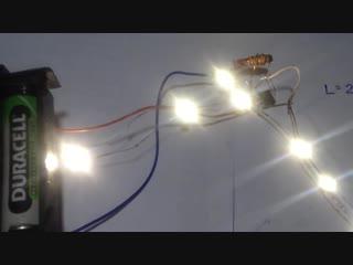 [Artyom Kositsyn] 1.Мощный преобразователь от 1.2В для питания светодиодной ленты.