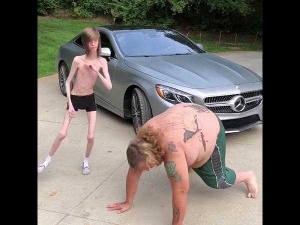 American Sunboy and skinny guy Dancing nsfw