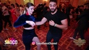 Man and Tatyana Demskaya Salsa Dancing at Vienna Salsa Congress 2018, Sunday 09.12.2018