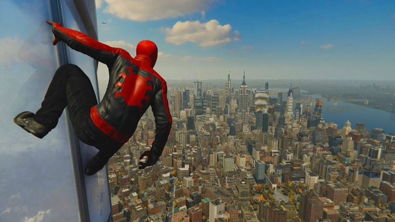 Spider-Man PS4 | LAST STAND SUIT - Web Swinging Combat Free Roam (Gameplay)
