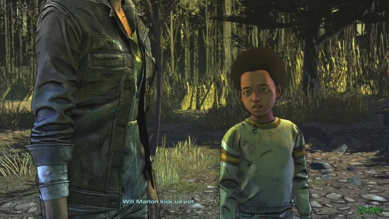 GamerrZOMBIE Appeal to Violet vs Appeal to Louis The Walking Dead Season 4 Episode 1 Alternative Choices