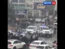Торопившийся водитель опрокинул полицейский УАЗ в Махачкале