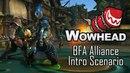 Battle for Azeroth Alliance Intro Scenario