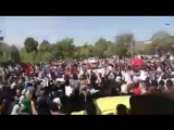 IranUpdate - Watch Kurdish city of Mariwan.Thousands have gathered in solidarity with environmental activists who were killed by