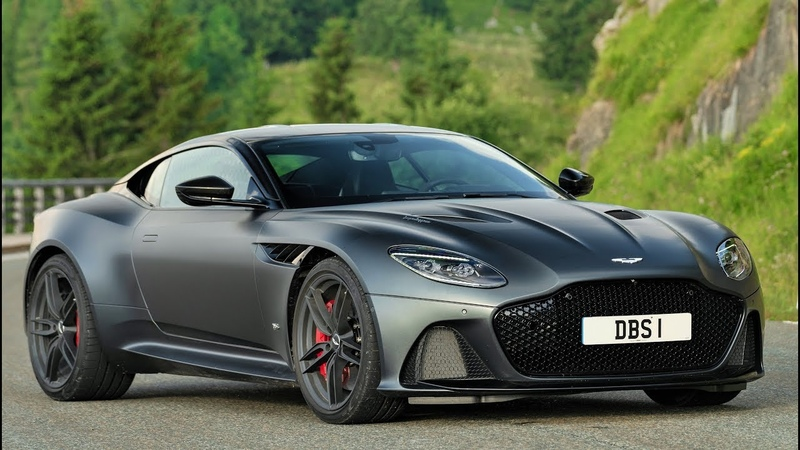 2019 Grey Aston Martin DBS Superleggera - Awesome Super GT