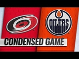 Carolina Hurricanes vs Edmonton Oilers Jan.20, 2019 Game Highlights NHL 201819 Обзор матча