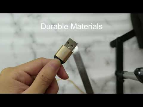 USB Cable-Nylon materials,micro usbtype-ciphone