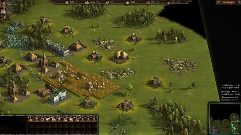 Antik УКРАИНА ПРОТИВ ПУЛЕНЕПРОБИВАЕМЫХ ⚡ Рейтинговая игра Казаки 3