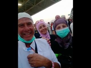 Совершенно случайная встреча адыгов во время хаджа