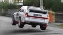 Audi Quattro INSANITY at RallyLegend 2018: 5-Cylinder Pure Sound, Turbo Anti-Lag Show!
