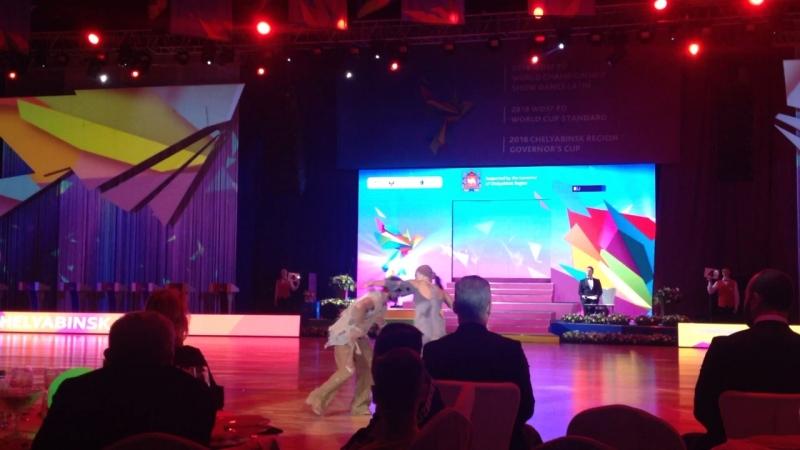 Чемпионат мира по танцам Челябинск. Секвей