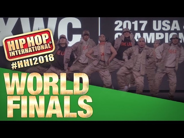 The Lab X West Co - USA | Champion Showcase |2018 Hip Hop International
