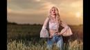 Wheat Field sunset photoshoot sigma 35mm art 1.4 godox ad200