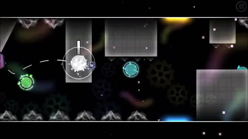 (GD 2.11) DEMON LEVEL 3 - X - TriAxis - 3/3 coins