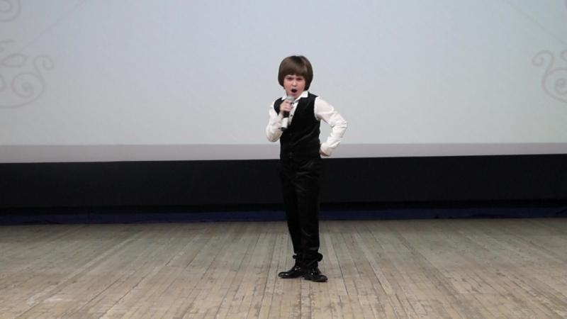 Матвей Ульев - Puttin On The Ritz (Одевающиеся по последней моде), 9 лет