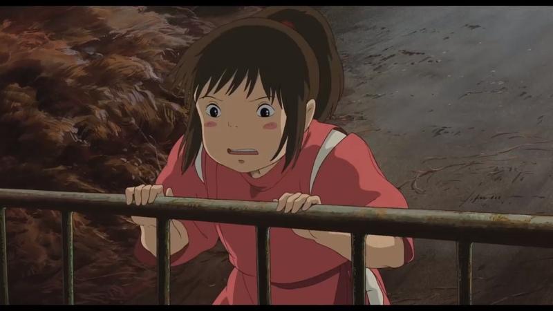Унесённые призраками/ Sen to Chihiro no kamikakushi (2001) Русский трейлер