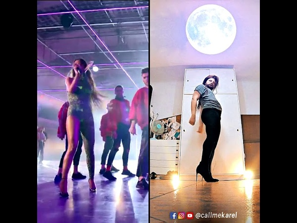 Eleni Foureira Fuego FAMA A BAILAR 🔥 DANCE COVER by Karel