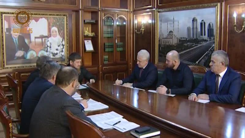 Предварительные итоги года с Председателем Правительства ЧР Муслимом Хучиевым и его заместителями.