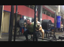 Присед 280 кг на 7 раз без бинтов Вес 113 кг