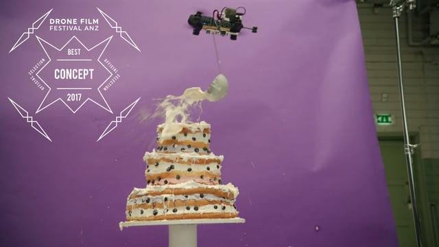 Telia - Drones Cake by Lucas Zanotto - Best Concept - Drone Film Festival ANZ x SanDisk