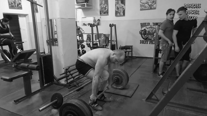 Александр Терский - Становая тяга 157,5х9х1 (скорость)