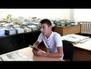 Жастар таңдайды - Молодежь предпочитает жобасына қатысушы Әли Кеңесұлы жастарды кітап оқуға шақырады