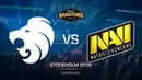 North vs Na`Vi - DH MASTERS Stockholm - map1 - de_train [GodMint, SSW]