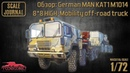 Обзор: MAN KAT1 M1014 8*8 HIGH-Mobility off-road truck (ModelCollect UA72132)